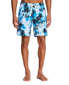 "Men's Standard-Fit 7.5"" Malibu Swim Trunks"