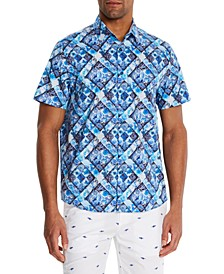 Men's Slim-Fit Lucea Short Sleeve Shirt