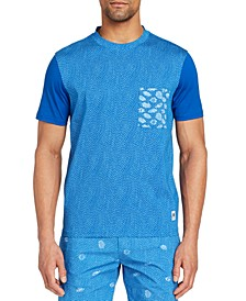Men's Slim-Fit Tang Crewneck Short Sleeve T-shirt