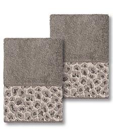 Spots 2 Piece Washcloth Set