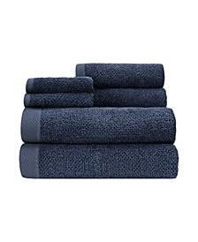 Adele 6 Piece Towel Set