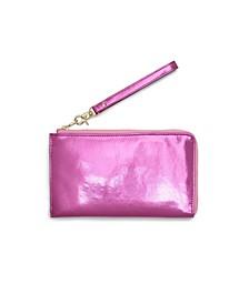 Getaway Travel Wallet - Metallic Pink