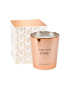 World Traveler Find Your Fire Candle