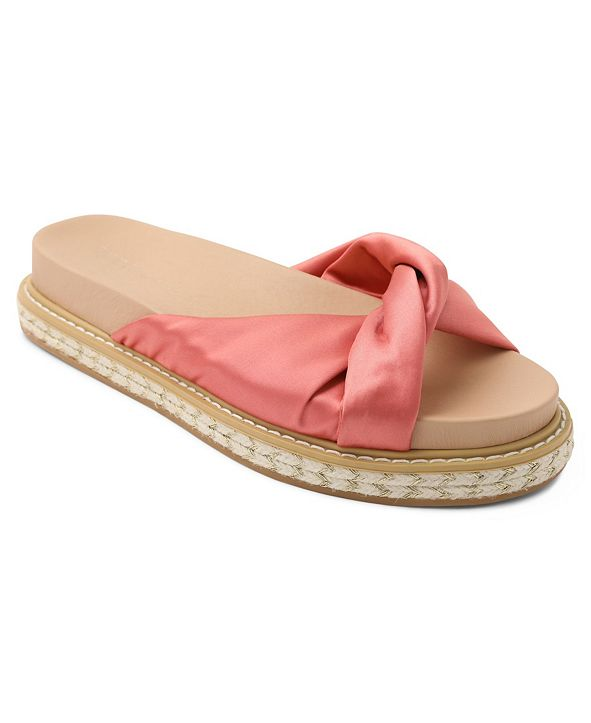 BCBGeneration Essina Knotted Footbed Sandals