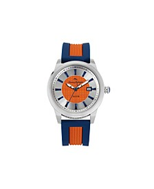 Men's Gulf Shore Sport Multi Silicone Strap Watch, 44mm