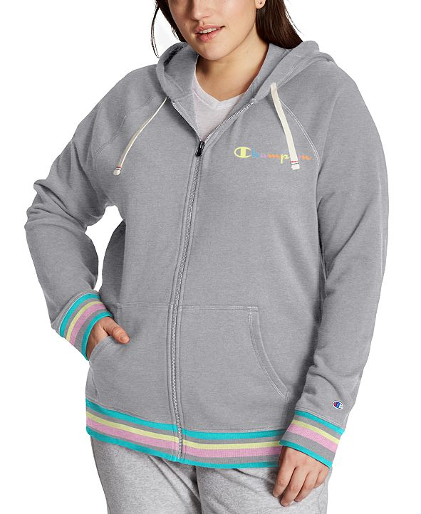 Champion Plus Size Campus Zip Hoodie