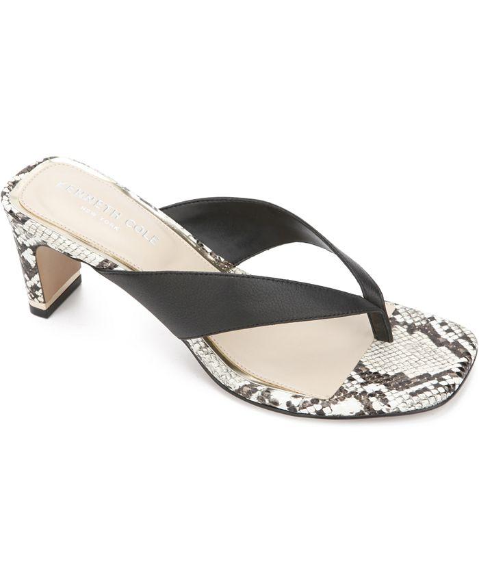 Kenneth Cole New York - Women's Macen Toe-Thong Sandals
