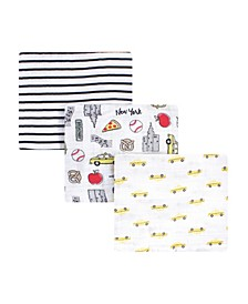 Boys and Girls Baby Swaddle Blankets