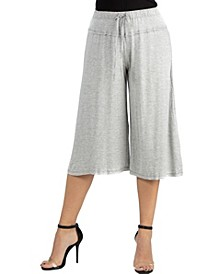 Loose Fit Straight Soft Drawstring Pant