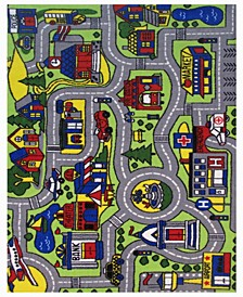"Fun Time Driving Time 19"" x 29"" Area Rug"