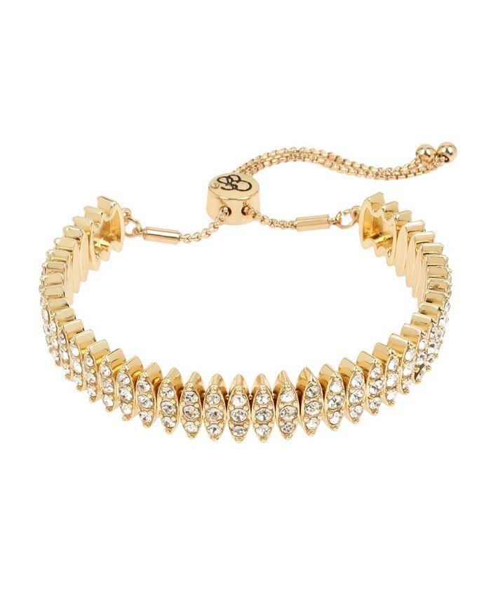 "Jessica Simpson - Stone Friendship Bracelet, 10.5"" adjustable"
