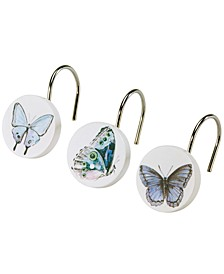 in the Garden Shower Hooks, Set of 12