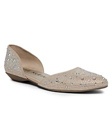 Onyx Double D'orsay Dress Flats
