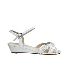 Lena Wedge Sandal
