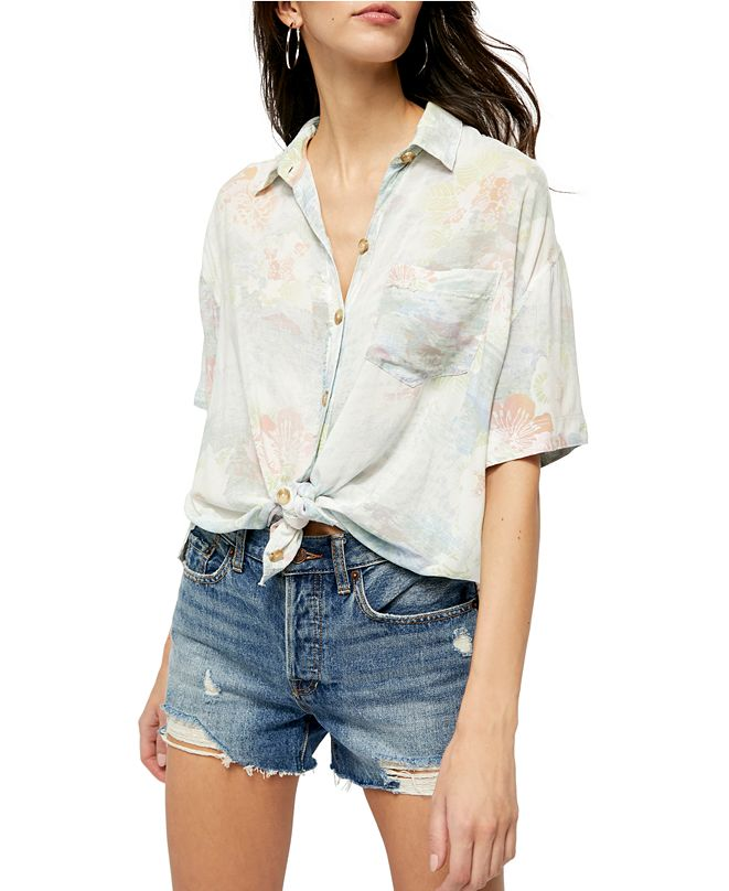 Free People Share Good Vibes Top