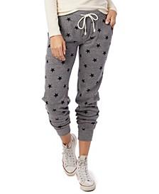 Printed Eco-Fleece Women's Jogger Pants