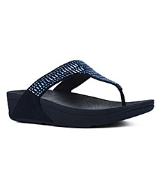 Incastone Toe-Thong Sandals