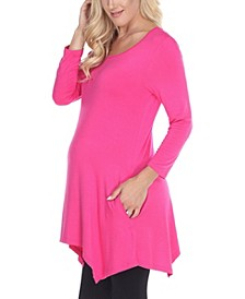 Maternity Kayla Tunic Top