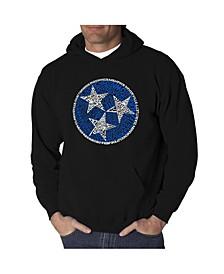 Men's Tennessee Tristar Word Art Hooded Sweatshirt