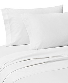 Zetta 4 Piece Brushed Cotton Sheet Set