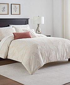 Abella 5 Piece Comforter Set, King/California King