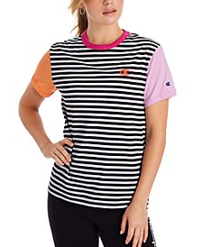 Campus Striped Ringer T-Shirt