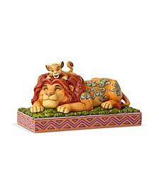 Simba Mufasa The Lion King Figurine