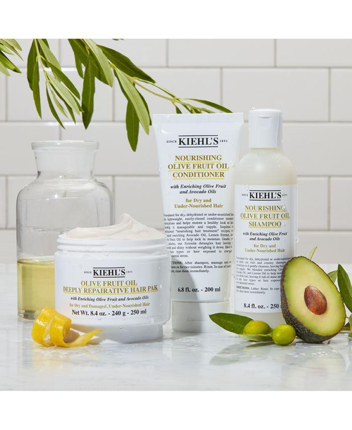Kiehl's Since 1851 Olive Fruit Oil Deeply Repairative Hair Pak, 8.4-oz. & Reviews - Beauty - Macy's