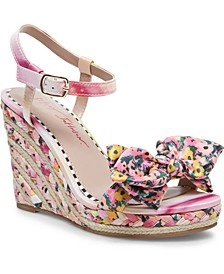 Carie Wedge Sandals