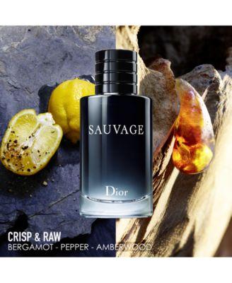 Men's Sauvage Eau de Toilette Spray, 3.4 oz.