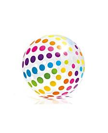59065EP Jumbo Inflatable Glossy Big Polka-Dot Colorful Giant Beach Ball