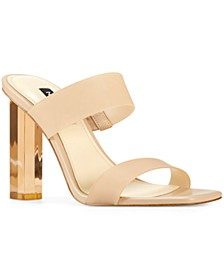 Women's Zabbi Heeled Slide Sandals