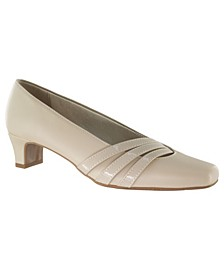 Entice Women's Squared Toe Pumps