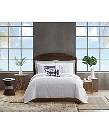 Pleated Denim Twin/Twin Xl Comforter Set