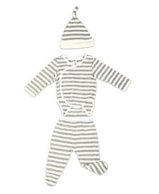 Baby Boys Bamboo 3 Piece Newborn Set