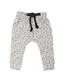 Baby Boys and Girls Organic Cotton Sand Splashy Pant