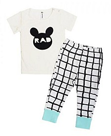 Baby Boys Bamboo Long Sleeve 2 Piece Rad Pajamas Set