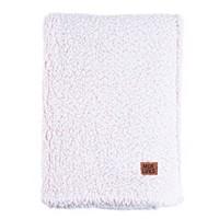 Deals on Muk Luks Super Soft Teddy Sherpa Throw Blanket 50x70-in