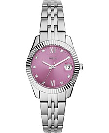 Women's Scarlette Mini Stainless Steel Bracelet Watch 32mm