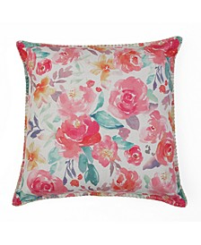 20x20 Margo Printed Floral Pillow