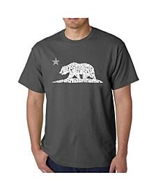 Men's Word Art - California Dreamin T-Shirt