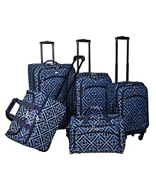 Astor Collection 5 Piece Luggage Set