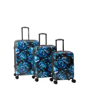 Isaac Mizrahi Inez 3 Piece Hardside Spinner Luggage Set