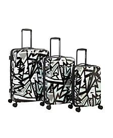 Inner City 3 Piece Hardside Spinner Luggage Set