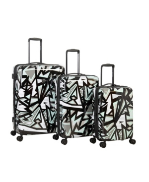 Body Glove Inner City 3 Piece Hardside Spinner Luggage Set