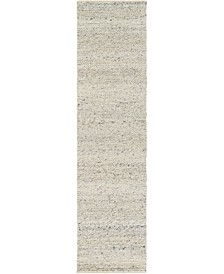 "Tahoe TAH-3709 Cream 2'6"" x 10' Runner Area Rug"
