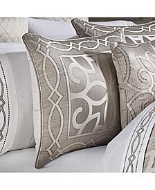 Deco Queen Comforter Set, 4 Piece