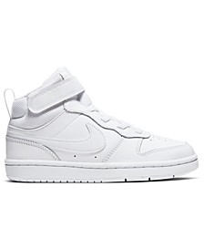 Little Boys Court Borough Mid 2 Stay-Put Closure Casual Sneakers from Finish Line