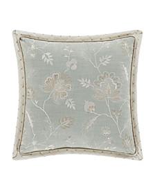 "Garden View 18"" Square Decorative Throw Pillow"