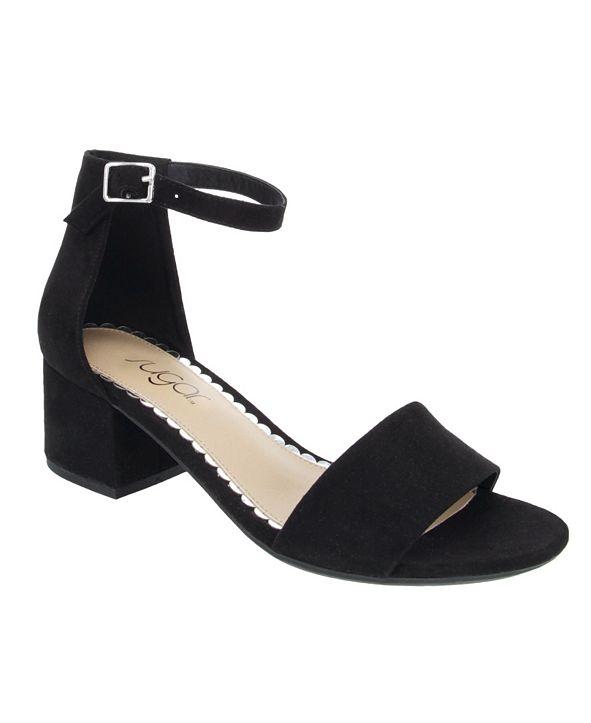 Sugar Women's Noelle Block-Heel Sandals
